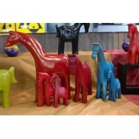 Paarden van Zeepsteen 15 cm. -  - 12.40