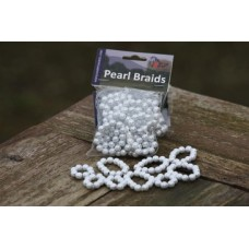 Pearl Braids wit