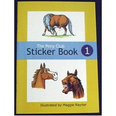 Pony club sticker boek 1