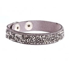 SD Stoffen armbandjes met steentjes