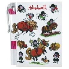 Thelwell notitieboekje met pen