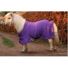 Fleece deken HB paars