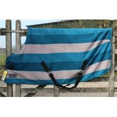 Fleece deken HKM colour stripes