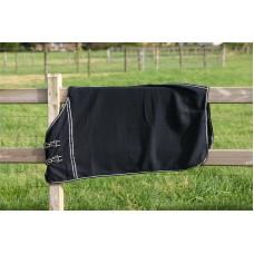 Fleece deken zwart