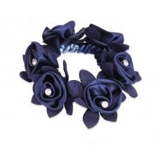Haarstrik met roosjes